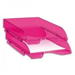 CEP Corbeille à courrier 200H HAPPY de coloris rose / indien