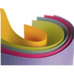 CANSON couleur 160 g ''Mi-teintes'' 50x65 cm paquet de 24 feuilles, coloris assortis pastel Ecole