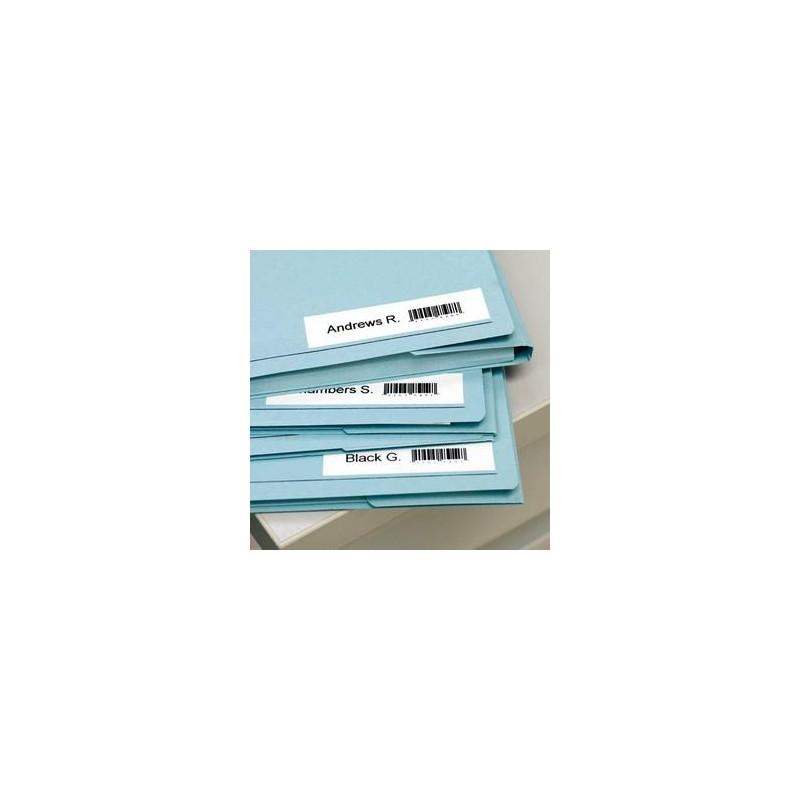 DYMO Ruban D1 noir/transparent 6MMX7M pour 1000/1000+/2000/3500/4500/5000/5500