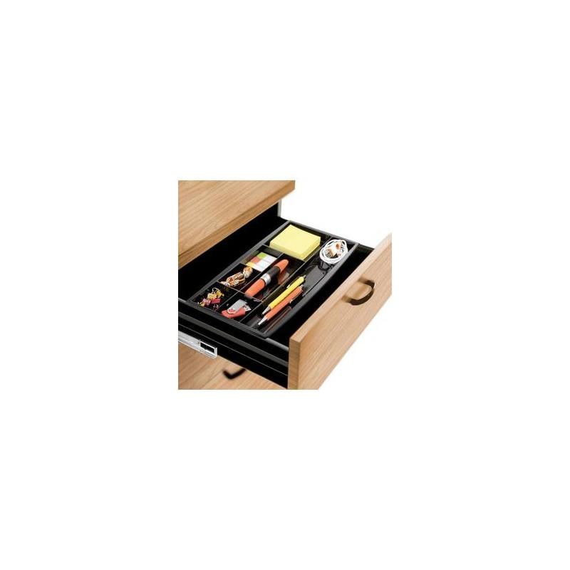 CEP Plumier pour tiroir 7 compartiments noir