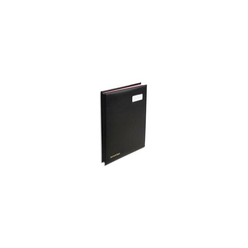 EXACOMPTA Parapheur 16 compartiments noir, couverture en PVC expansé