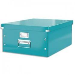 LEITZ Boîte CLICK&STORE L-Box. Format A3 - Dimensions : L36,9xH20xP48,2cm. Coloris menthe.