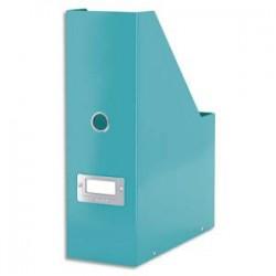 LEITZ Porte-revues Click&Store WOWen carton recouvert de polypropylène. Dos 10 cm. Coloris menthe.