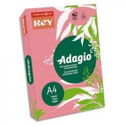 PAPYRUS Ramette 500 feuilles papier couleur flash ADAGIO framboise fluo A4 80g