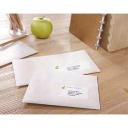 AVERY Boîte de 6500 étiquettes adresse laser recyclées blanc 38,1 x 21,2 mm LR7651-100