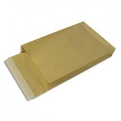 GPB Paquet de 50 pochettes kraft armé brun 34x46 5cm