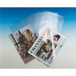 ESSELTE Boîte de 100 pochettes-coin Copy Safe en polypropylène 11/100e