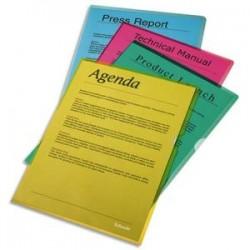 ESSELTE Boîte de 100 pochettes-coin Copy Safe vert en polypropylène 11/100e