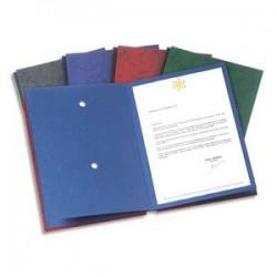 ELBA Parapheur Signature 24 compartiments anthracite, couverture pelliculée imprimée