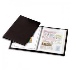 ELBA Protège-documents à faisceaux 120vues Voltiplast couv.PVC expansé, pochettes polypropylène 6/100e
