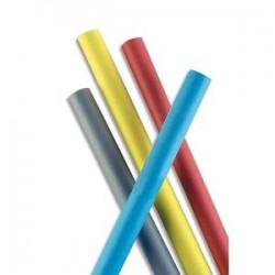 ROULEAUX Papier Kraft coloris rouge recto-verso 65g - Dimensions : 0.68 x 3 mètres