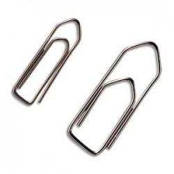 MAPED Attache lettres en acier nickelé et bout chevron,30mm, boîte de 1000