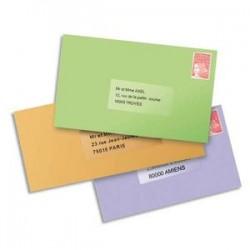 AVERY Pochette de 525 étiquettes laser invisible 63,5x38,1 L7560-25