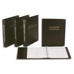 EXACOMPTA Classeur livre d'inventaire