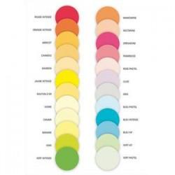 PAPYRUS Ramette 125 feuilles x 4 teintes papier couleur flash ADAGIO assortis fluo A4 80g