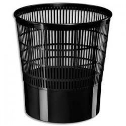 CEP Corbeille à papier ajourée First 16 litres noir