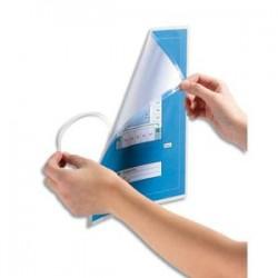 DURABLE Boîte de 10 pochettes de plastification repositionnable à froid SEAL IT format A4