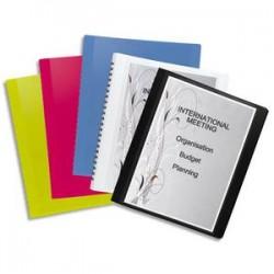 ELBA Protège-documents FLEXAM 30 vues à pochettes amovibles, en polypropylène 7/10, assortis opaque