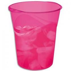 CEP Corbeille à papier 280H HAPPY de coloris rose / indien