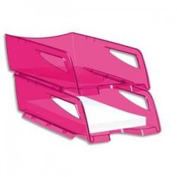 CEP Maxi corbeille à courrier 220H HAPPY de coloris rose / indien