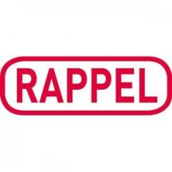 """TRODAT X-Print """"RAPPEL"""" 4912 rouge climatiquement neutre - encrage rouge"""