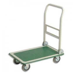 SAFETOOL Chariot pliable charge utile 300 kg dimensions 72,5x47,2x85 cm