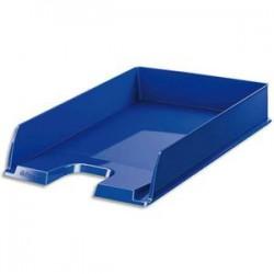 ESSELTE Corbeille à courrier EUROPOST - Bleu opaque - L25,4 x H6,10 x P35 cm