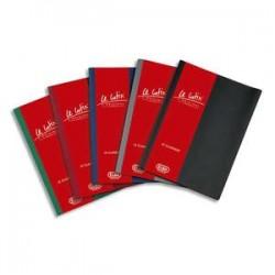 ELBA Protège-documents 100 vues assortis moyen Le Lutin couverture PVC 34/100e, pochettes PVC 5,5/100e