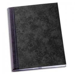 ELBA Protège-documents 40 vues noir Fusio Elégance , couv. PVC expansé 10/10e, pochettes PVC 5,5/100e
