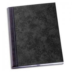 ELBA Protège-documents 100 vues noir Fusio Elégance , couv. PVC expansé 10/10e, pochettes PVC 5,5/100e