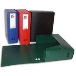 5 ETOILES Boîte de classement dos de 10 cm, en polypropylène 7/10e assortis
