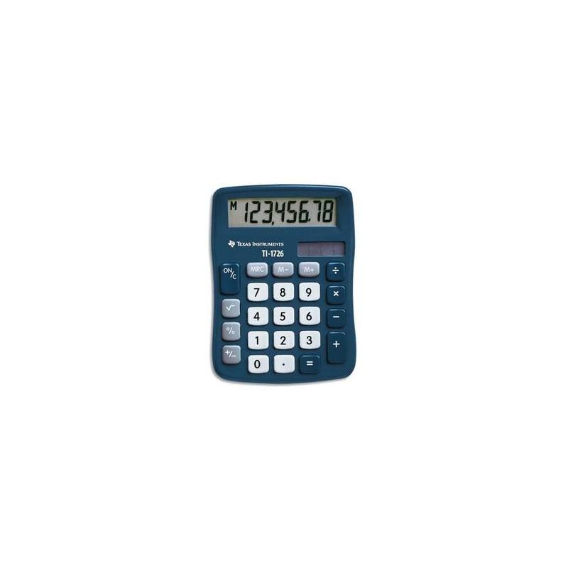 TEXAS INSTRUMENTS Calculatrice de poche 8 chiffres TI 1726