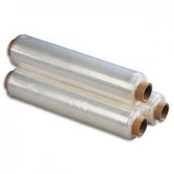 EMBALLAGE Bobine de film étirable manuel cast transparent 17 microns - H45 cm x L300 métres