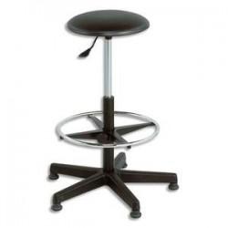 Jeu de 5 roulettes noires adaptables sur : siège, chaise, tabourets Techniques