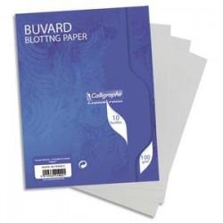 CLF S/10 BUVARD 16X21 100G BLC 1002C