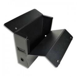 EXACOMPTA Boite de classement EXABOX en polypro 20/10ème recyclé dos de 10cm noir