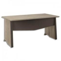 GAUTIER Bureau table Mambo - Dimensions : L160 x H74 x P80 cm coloris chêne