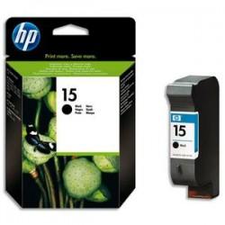 HP Cartouche jet d'encre noir pour 840 n°15 C6615D