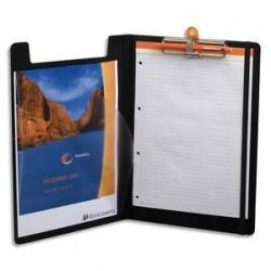 EXACOMPTA Porte bloc exactive avec rabat - format A4 - 23,7x1,5x33,5 cm