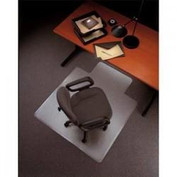 5 ETOILES Tapis protège-sol PVC pour moquette transparent, format 121 x 92 cm, épaisseur 2,2 mm