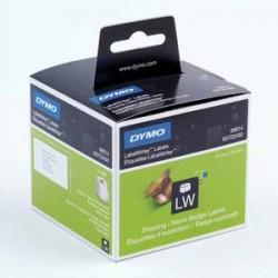 DYMO Rouleau de 220 étiquettes adhésif permanent pour dossier suspendus 50x12mm S0722460