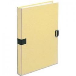 EXACOMPTA Chemise extensible fibres papier 100% recyclées coloris jaune