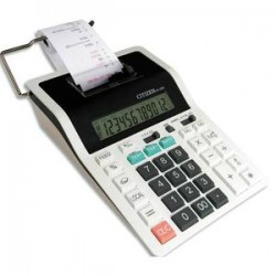 CITIZEN Calculatrice imprimante professionnelle 12 chiffres CX32N