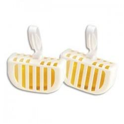 HYGIENE Boîte de 20 Blocs cuvettes WC économiques nettoie désodorise parfum citron