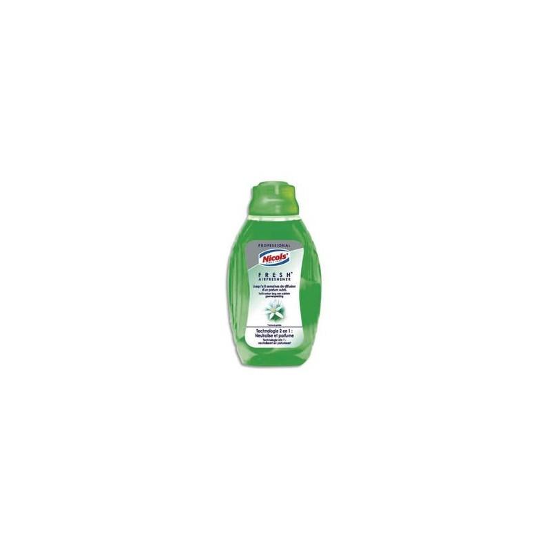 NICOLS Flacon mèche 375 ml, mèche réglable parfum Menthe