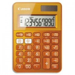 CANON Calculatrice de poche LS-100K MOR Orange 0289C004
