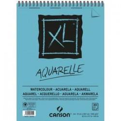 CANSON Bloc de 30 feuilles de papier dessin XL AQUARELLE 300g A4