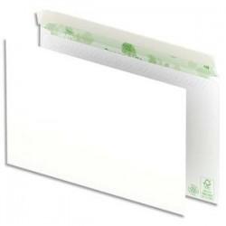 OXFORD Boîte de 500 enveloppes recyclées extra blanches 90g format C5 162x229 mm