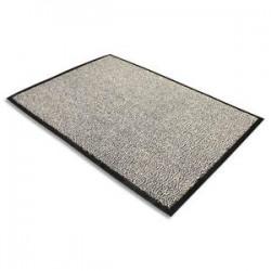 FLOORTEX Tapis d'accueil Advantage gris en polypropylène 120 x 180 cm épaisseur 10 mm
