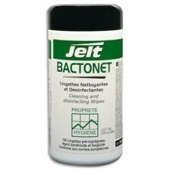 JELT Boîte de 100 lingettes nettoyantes anti bactérie bactonet